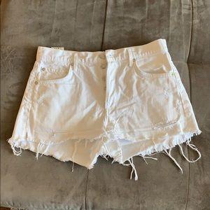 AGOLDE high waisted Jayden shorts
